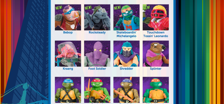 TMNT retro collection 2015 releases